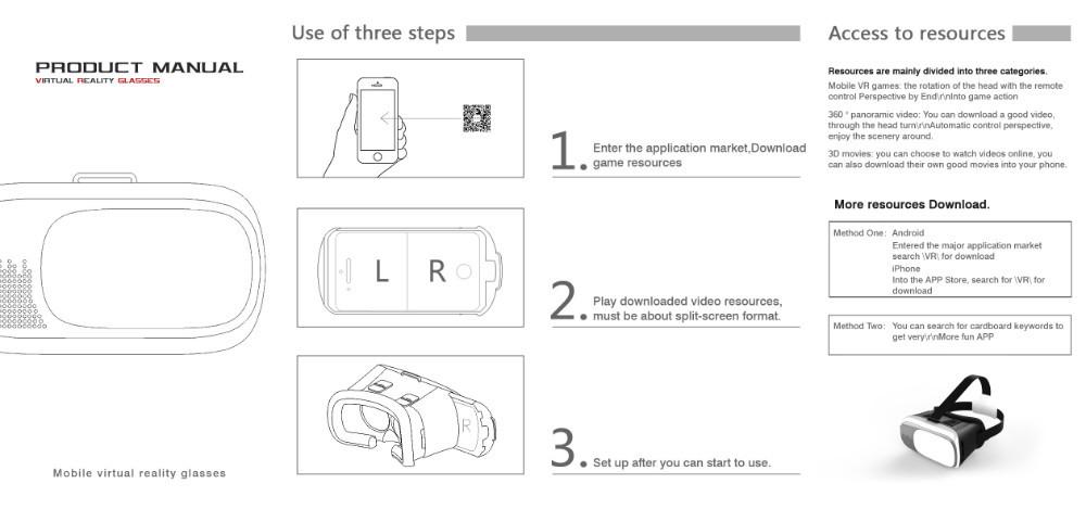 Google Cardboard Vr Box 20 Sulitsatipidcom