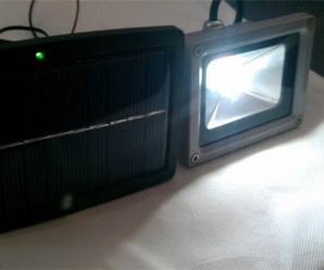 LED flat panel flood light 10w