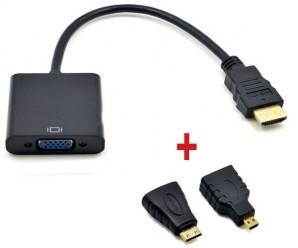 HDMI to VGA Converter Cable