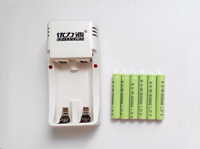 Rechargeable AAAA battery