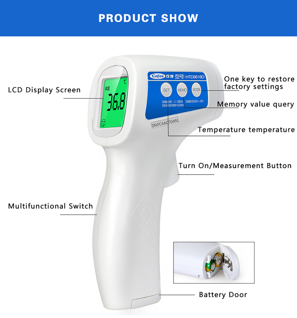 Cofoe Forehead Thermometer